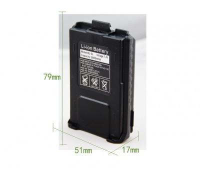 Аккумулятор повышенной емкости Baofeng BL-5 для UV-5R (3800)