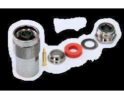 Разъем N-типа, вилка, для кабеля 5D (прижимной), N-112C/5D
