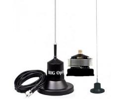 BIG Optim (прозрачная) , CB антенна автомобильная